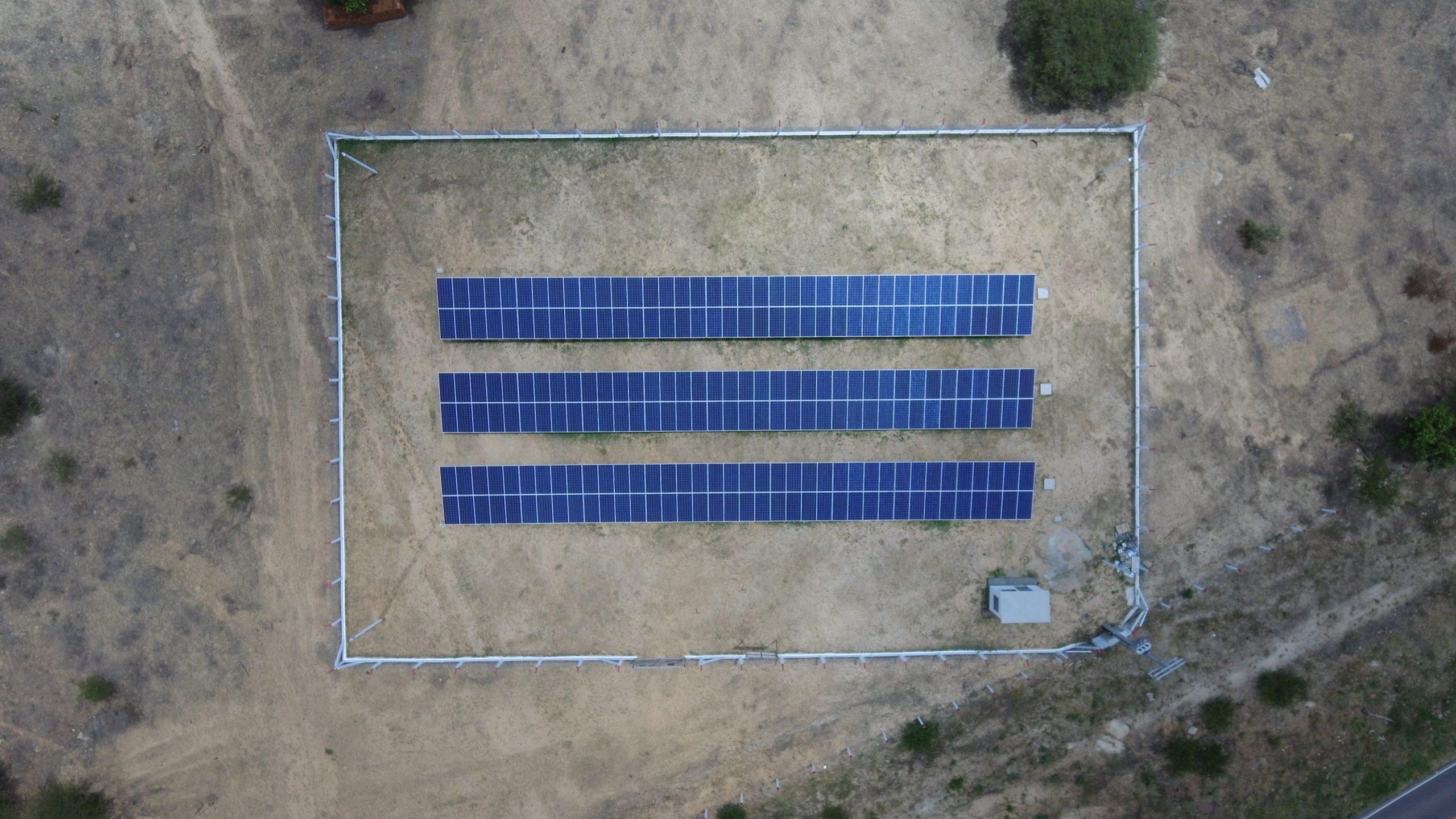 USINA COMERCIAL – CARNAÍBA (PE) – 75 kWp