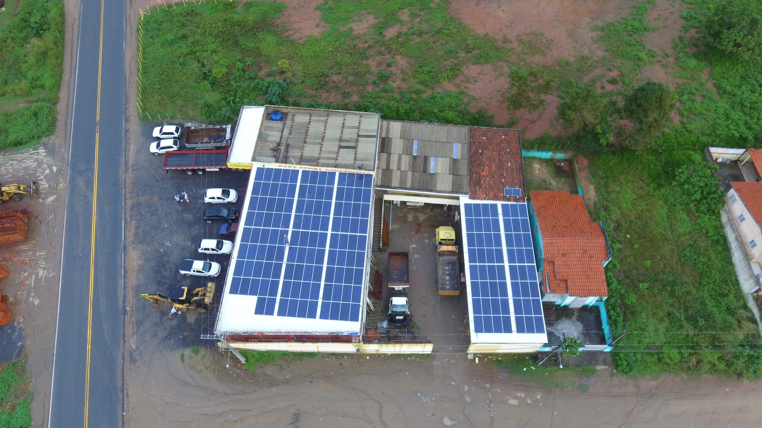USINA COMERCIAL – LIMOEIRO (PE) – 56 kWp