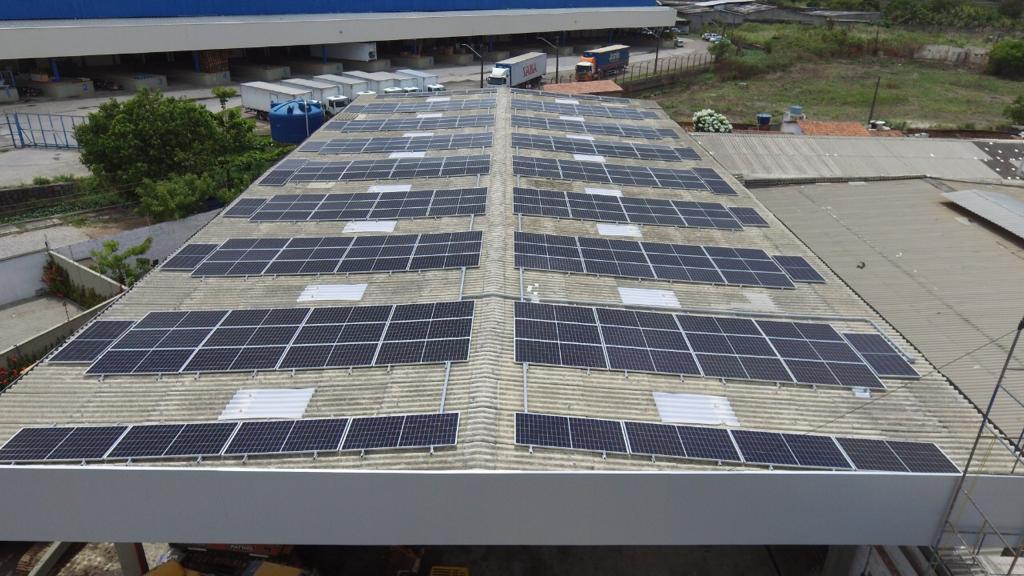 USINA COMERCIAL – TECNOMAQUINAS (RECIFE-PE) – 81 kWp